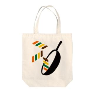 中華鍋 Tote bags
