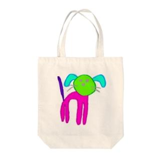 わんちゃん Tote bags
