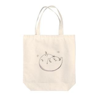 おくらめんたいこ いやんっ Tote bags