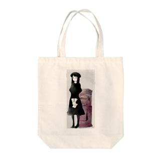 ラブレター Tote bags