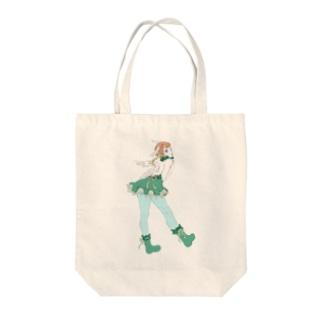 餡光堂の天使少女 Tote bags
