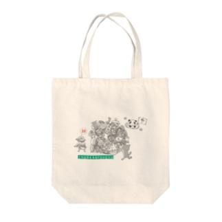 塊ingress 東北(絆) Tote bags