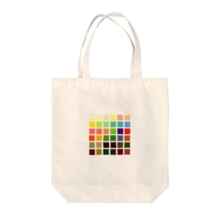 イエロートーン Tote bags
