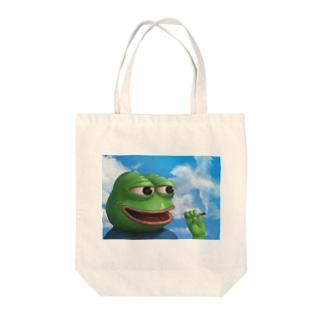 良い天気なペペ Tote bags