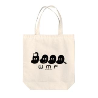 WILD MONKEY FAMILY Tote bags