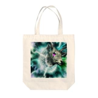 魔界の馴鹿が召喚された Tote bags