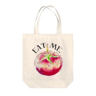 EatMe.トマト(3) Tote bags