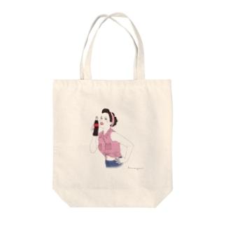 70's GIRL_bykameyoui Tote bags