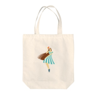 summer (ライトブルー) Tote bags