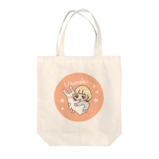 うつまき Tote bags