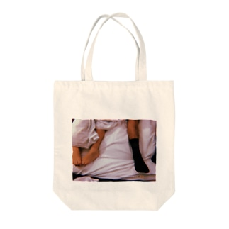 his and her sexuality Tote bags