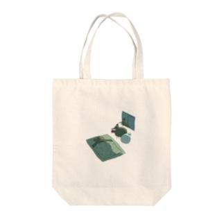 さんたときうい Tote bags