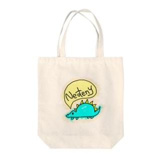 きょうりゅう Tote bags