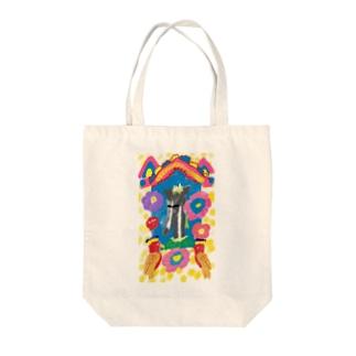 フリーダヨヨ Tote bags
