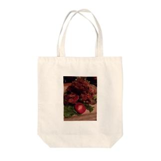 唐揚げ Tote bags