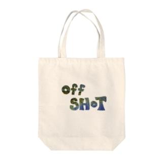 オフショット Tote bags