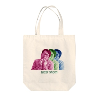 bitter shoes Tote bags