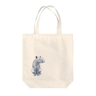 マレーバク(シンプル) Tote bags
