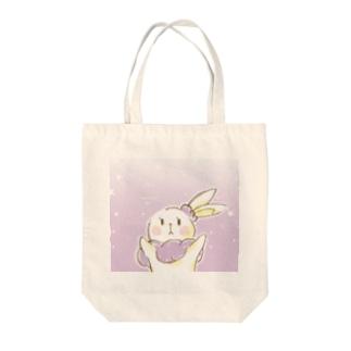 うさぎのミミ・メルシュ Tote bags