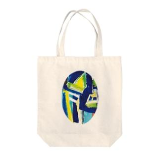 仮面 Tote bags