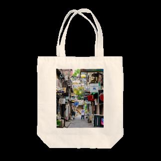 タナカジャナイホウノヤマモトのshin_juku Tote bags