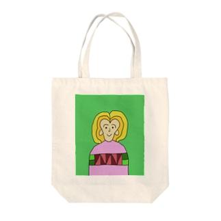JUNSEN(純仙)フローレンスA Tote bags