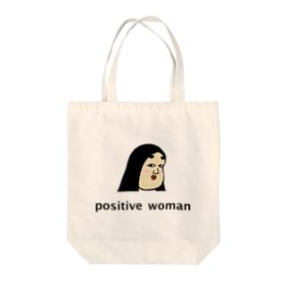 positive woman 式部 トートバッグ