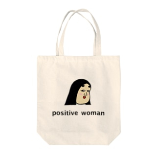 positive woman 式部 Tote bags