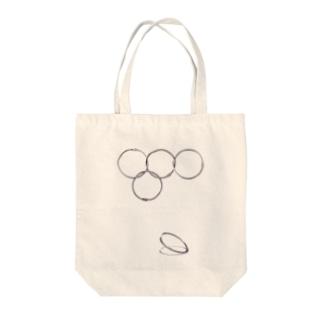 ヨリンピック Tote bags