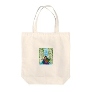 JUNSEN(純仙)筑波氏滝修行 Tote bags