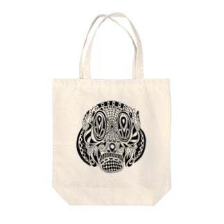 ガスマスクさん Tote bags