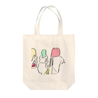 2014.09.11 騒音と私 Tote bags