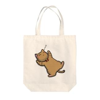 猫のお昼寝 Tote bags