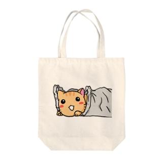 フクロネコ Tote bags