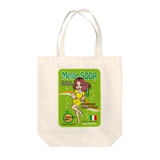 Melon SODA Tote bags