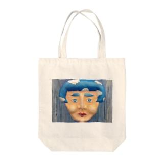 「 溺れる 」半立体 Tote bags