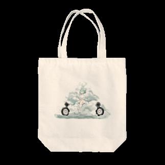 HOSHIGARの雲コンポ Tote bags