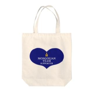 チームモンゴリアン Tote bags