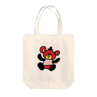 くまタロウ Tote bags