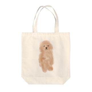 トイプーちゃん Tote bags