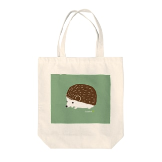 ハリネズミのチョコ トートバッグ
