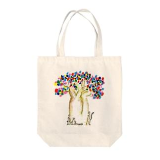 しあわせのパオパブの木 Tote bags