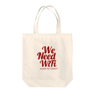 We  Need WiFi Tote bags