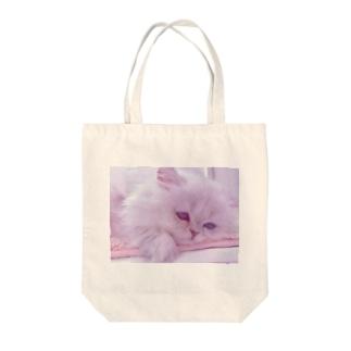はじめましてのミルク Tote bags
