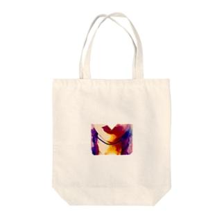 びるびる Tote bags
