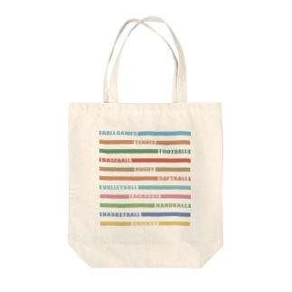 BALL GAMES Tote bags