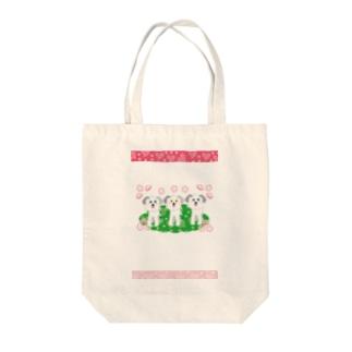 メロー メロー のワンワンワン Tote bags