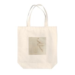 丸まった型紙 Tote bags