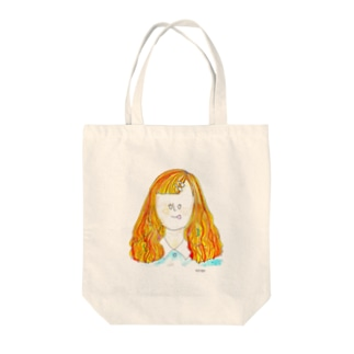 ナポリタン少女 Tote bags
