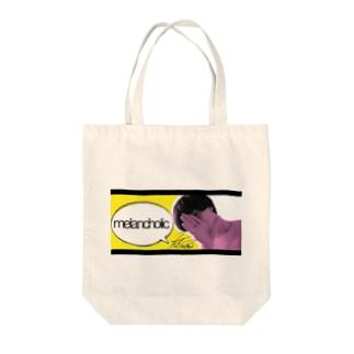 melancholic photoシリーズ Tote bags